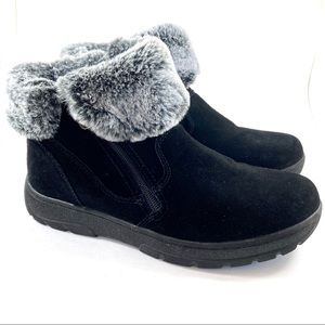 Khombu: suede and faux fur boots (9)